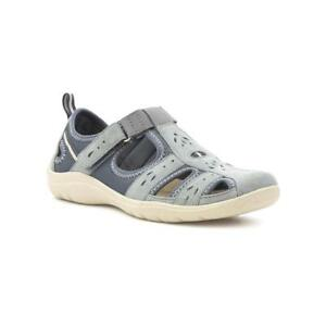 bca0aaceb6 Image is loading Earth-Spirit-Womens-Denim-Sport-Casual-Shoe-Sizes-