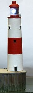 100ft-Stone-200mm-Tall-Lighthouse-NMB19-UNPAINTED-N-Gauge-Scale-Models-Kit