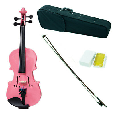 Sky Children's 1/16 Size Pink Violin W Rosin Cute Violin Case And Bow Available In Various Designs And Specifications For Your Selection Violins