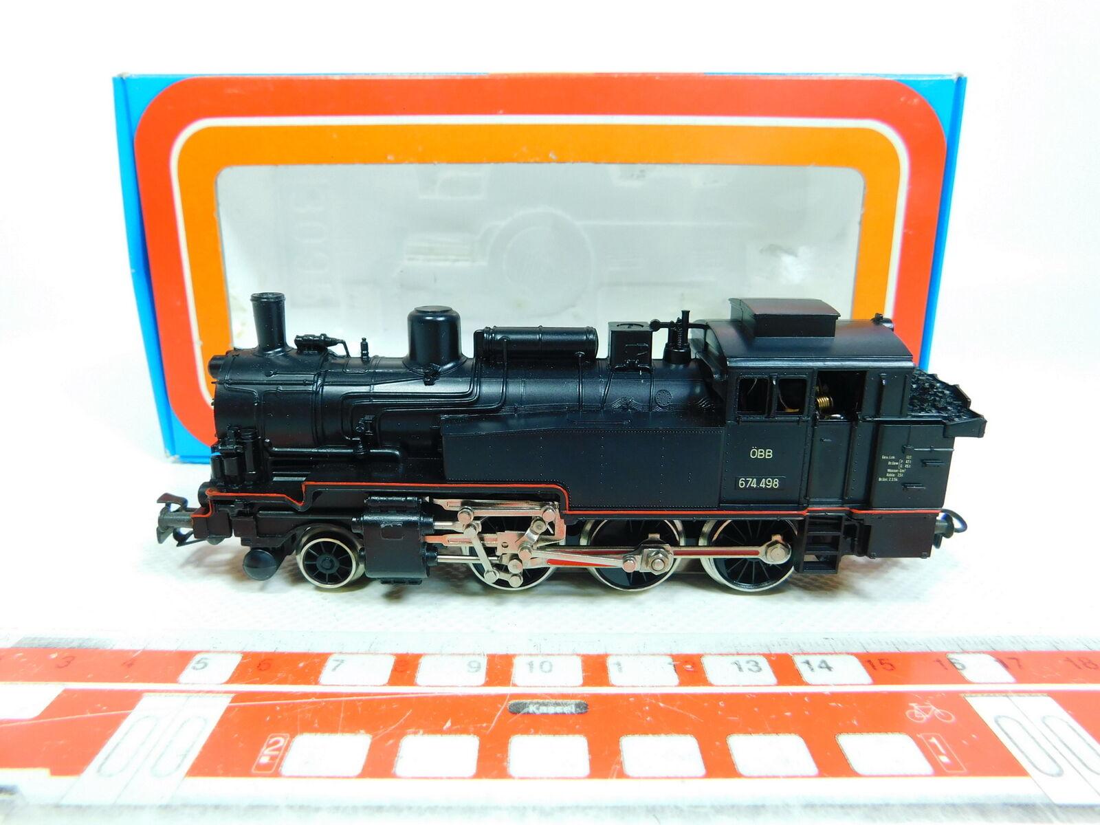 BV536-0,5 Märklin H0 Ac 3105 Tender Steam Locomotive 674.498 ÖBB,Very Good