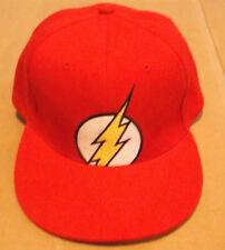 The Flash Hat Cap Rare Six Flags Exclusive Justice League DC Comics Trucker Punk