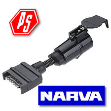 Narva Trailer Adapter Flat To Large Round 82245bl For Sale Online Ebay