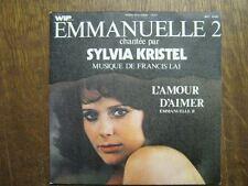 BOF EMMANUELLE 2 45 TOURS FRANCE SYLVIA KRISTEL