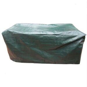 Détails sur Ovale protéger terrasse mobilier de jardin Housse Imperméable  Grande table chaises set 2.1 M- afficher le titre d\'origine