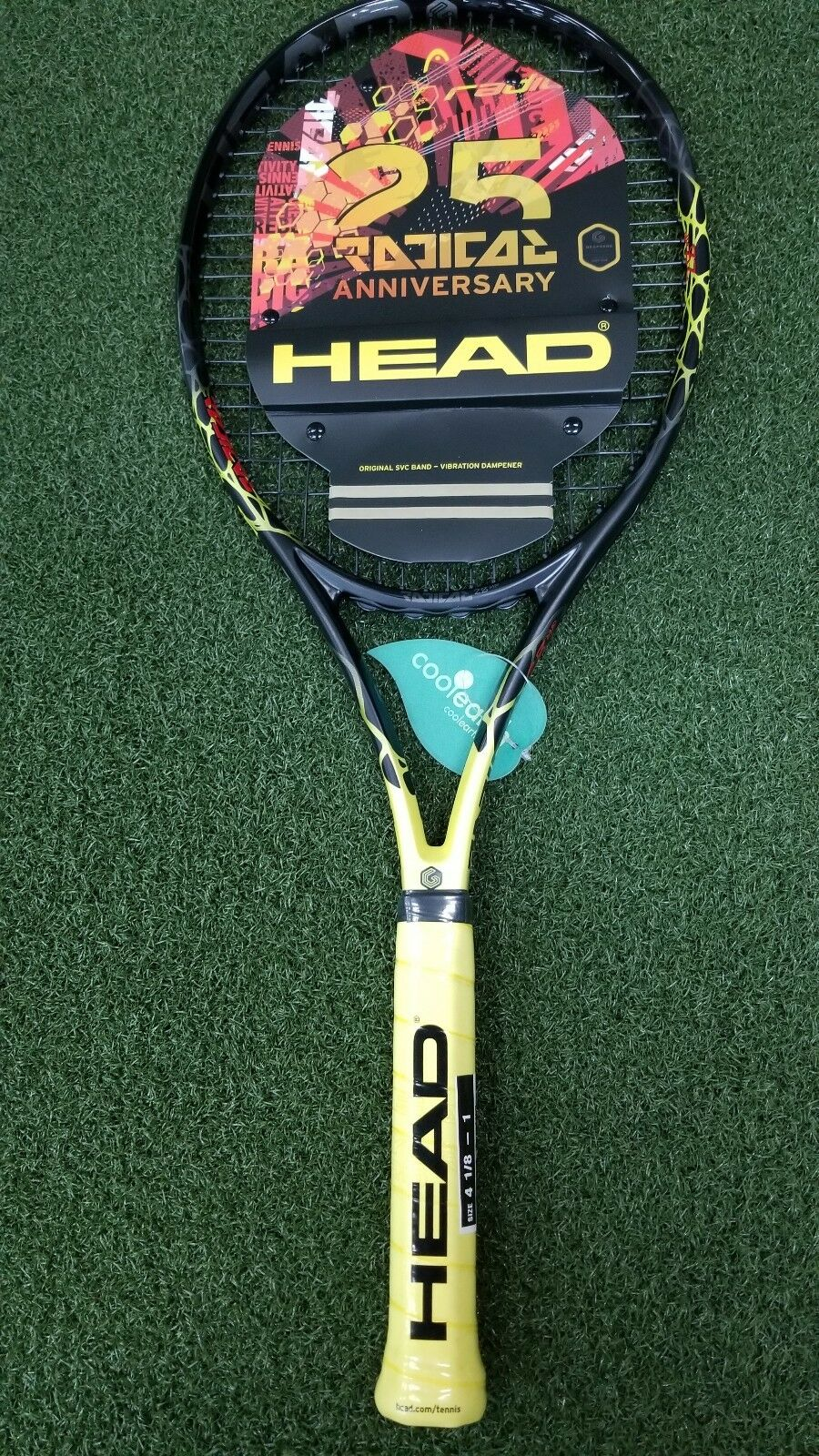 New Head Limited Edition 25 Year Radical MP Tennis Racquet 98in 295g 10.4  4 1 2
