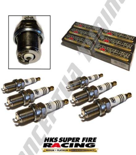 6 xuprated HKS Iridium Super Fire Spark Plugs HR8-FOR R33 GTR Skyline RB 26 DETT