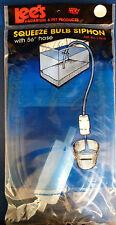 Fish Tank Syphon Starter Bulb With Hose Aquarium Gravel Cleaner Vacuum Siphon