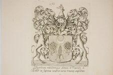 le blason de Francisco le Noble par Nolin, XVII° Héraldique, noblesse