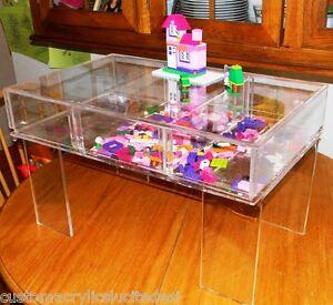 Image Is Loading Children 039 S Lego Puzzle Activity Craft Lucite