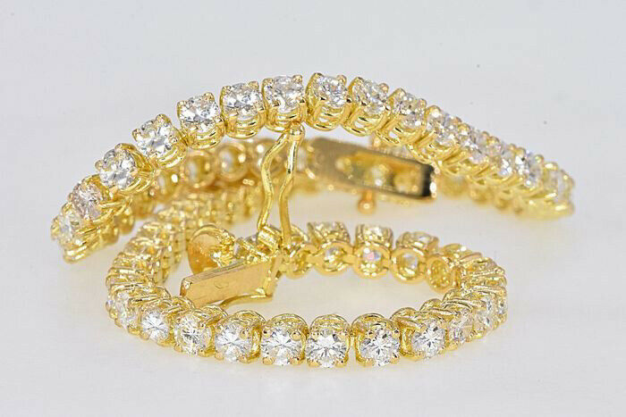 diamant Tennisarmbånd 5.50 carat