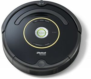 irobot roomba 650 staubsaugroboter schwarz ebay. Black Bedroom Furniture Sets. Home Design Ideas