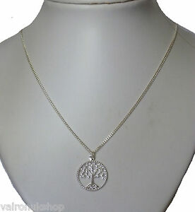 Tree of life pendant silver plated necklace choice chain length 16 image is loading tree of life pendant silver plated necklace choice aloadofball Gallery