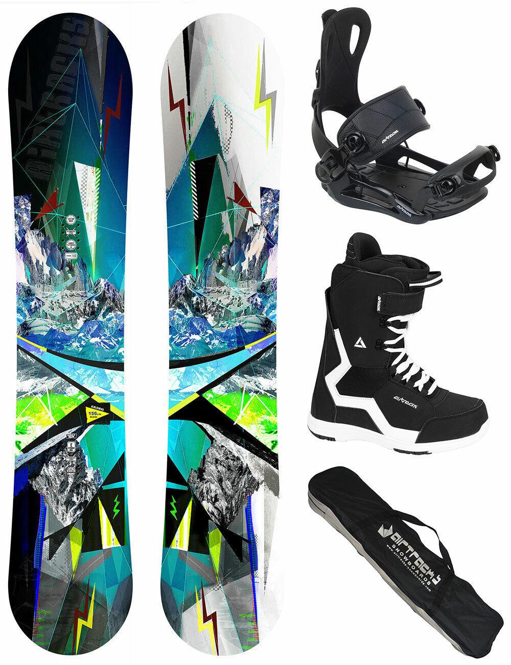 AIRTRACKS Snowboard Stel plaatsen Rocker Bindung Master laarzen Sb Zak 156 159 165