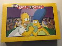 The Simpsons Battle Of The Sexes Board Game Brand Factory Sealed 2003