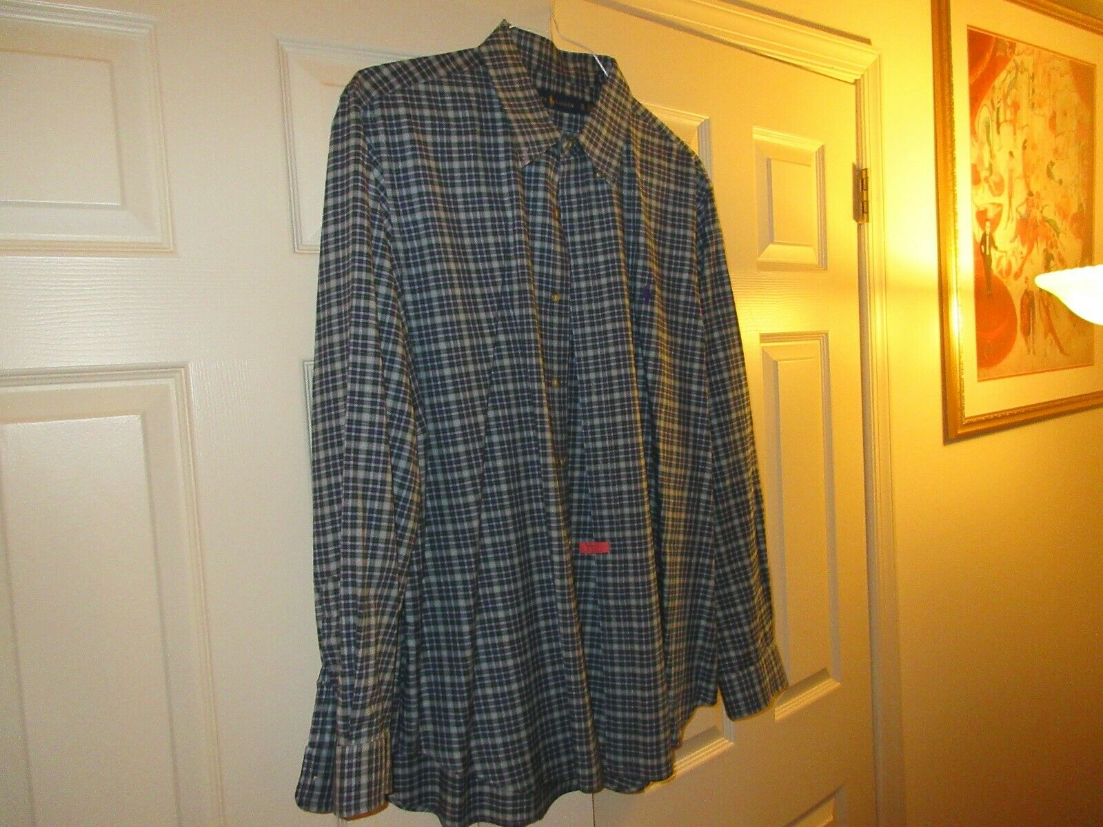 Ralph Lauren , Men's Long Sleeve Shirt , XL/TG , 100%Co