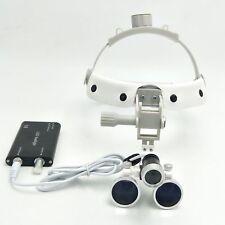 35x420mm Dental Binocular Surgical Loupe Headband Magnifier 3w Led Headlight