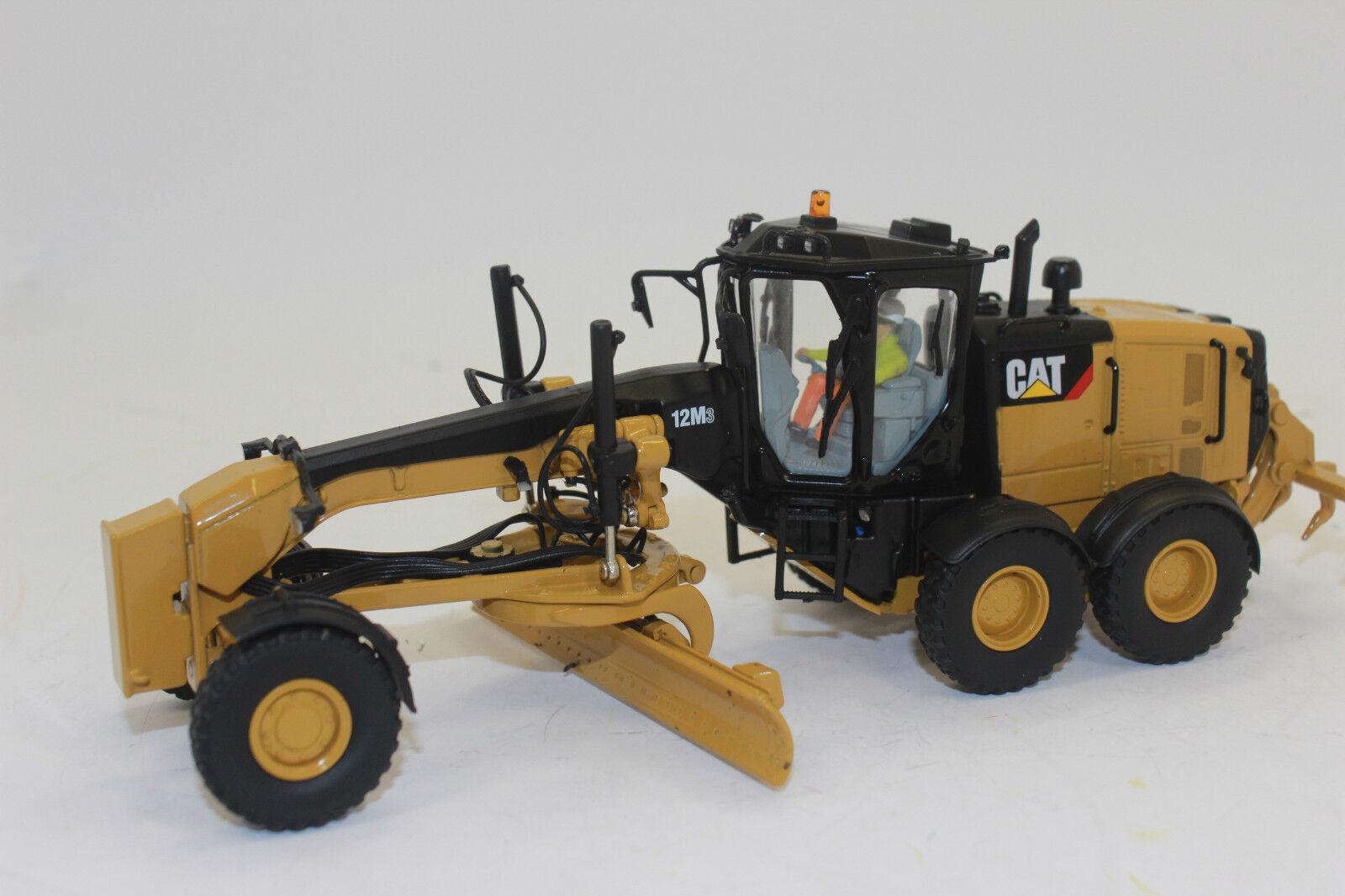 Miniature Masters 85519 CAT Caterpillar 12 M 3 motorgrader motorgrader motorgrader angledozers 1:50 nouveau en OVP   L'exportation  31dc8e