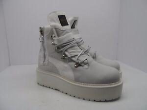 0f97f75d43b7 Puma X Fenty Rihanna Unisex SB Sneaker Boot Puma White Size Womens ...