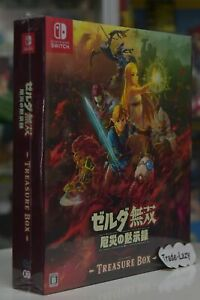 Switch Zelda Hyrule Warriors Age Of Calamity Jap Collector S Limited Chi Eng Ebay
