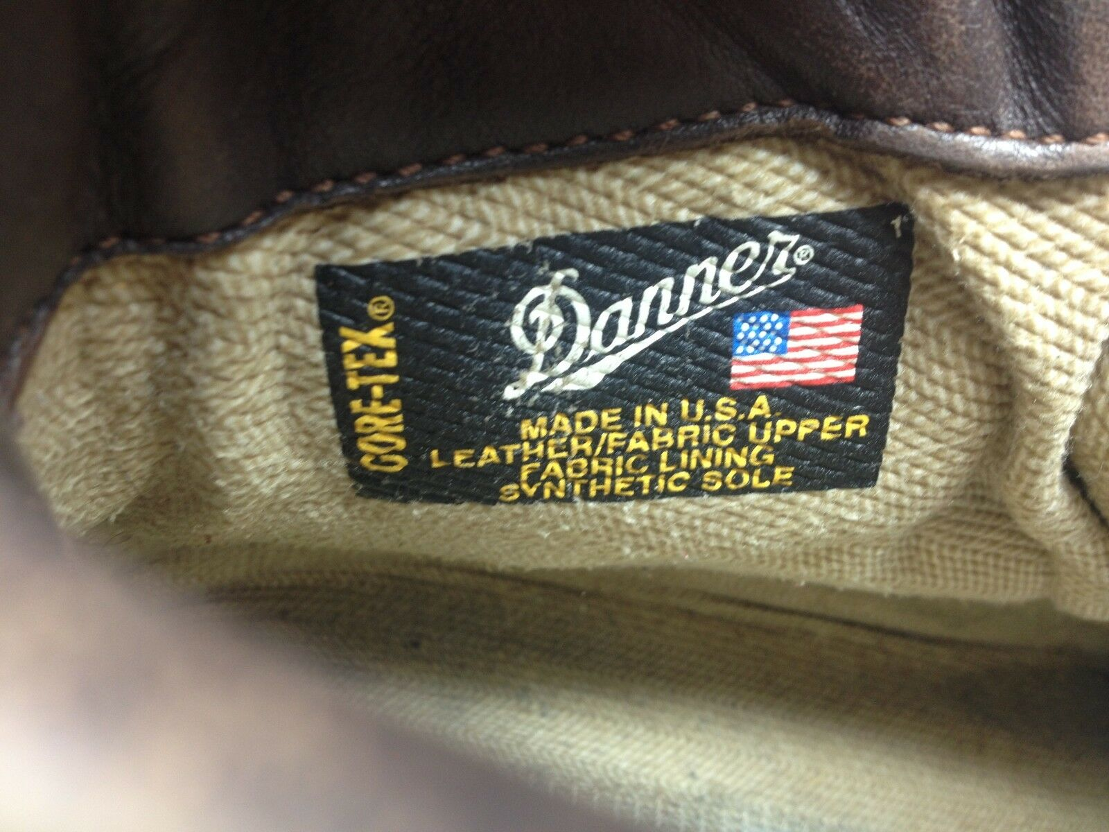 DISTRESSED DISTRESSED DISTRESSED DANNER MADE IN USA VINTAGE BROWN LEATHER LACE UP HIKING BOOTS 11D 5252b5