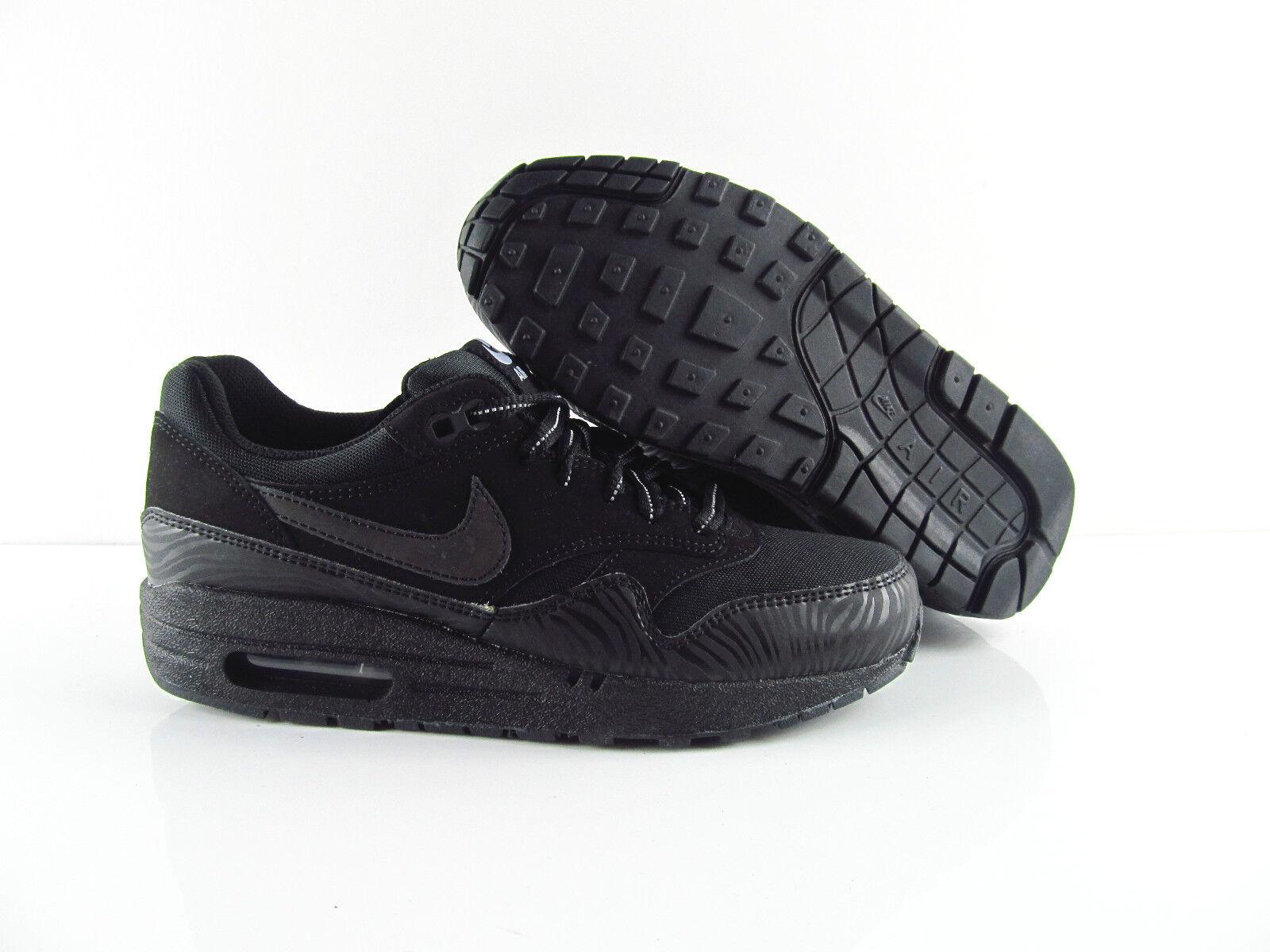 Nike Air Max 1 Zebra Fekete Reflektív 3M Sneaker Schuhe Neu Rare Eur 36.5