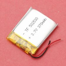 3.7V 370mAh Lipo Li-Polymer Battery W/ PCM Rechargeable 052530 for MP4 Bluetooth