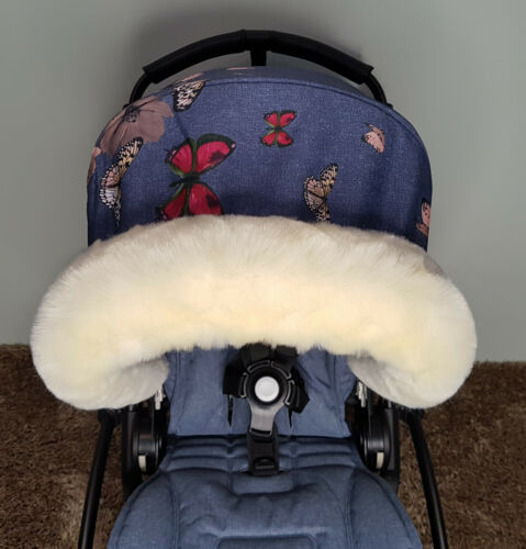 Fur Hood Trim For Pram iCandy Bugaboo Silvercross Universal Fit FAST DELIVERY