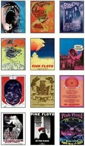 Pink-Floyd-Concert-Posters-Trading-Card-Set