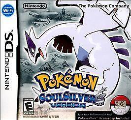 Pokemon SoulSilver Version (Nintendo DS, 2010) w/ box and Pokewalker!