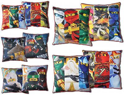 KüHn Lego Ninjago Movie Kissen Dekokissen Beidseitig Pillow 40 X 40 Cm Bettwaren, -wäsche & Matratzen