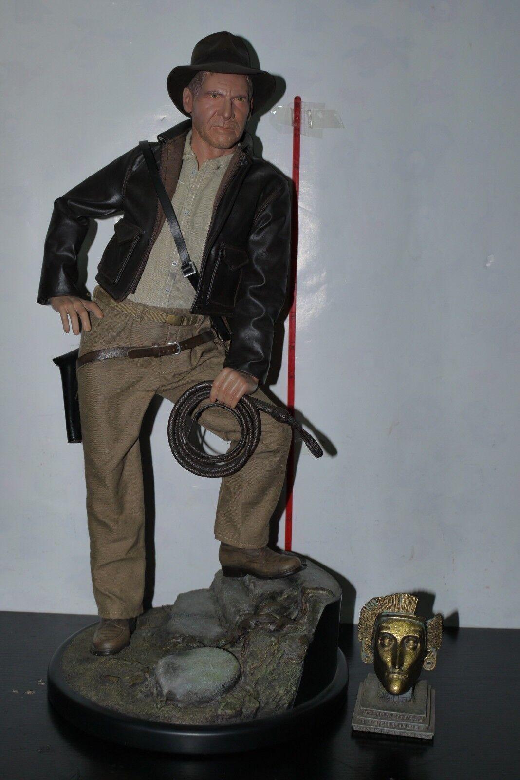SIDESHOW Indiana Jones IV Cristal Cráneo Premium Format exclusiva estatua de 44 300