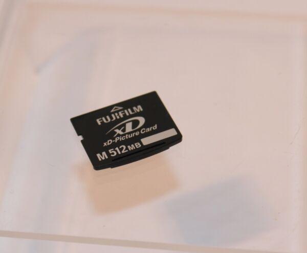 Fougueux Fujifilm M 512 Mo Xd Carte... Testé Et De Travail Nourrir Les Reins Soulager Le Rhumatisme