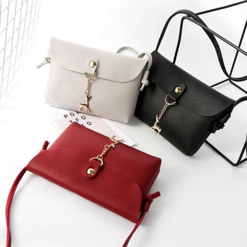 NEW Women Cross Body Messenger Bag Ladies Small Handbag Shoulder Tote Satchel UK