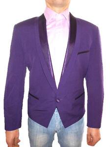 LICONA Men Vtg Formal Wedding Tailored Lux Design Wool Jacket Blazer sz M Z32