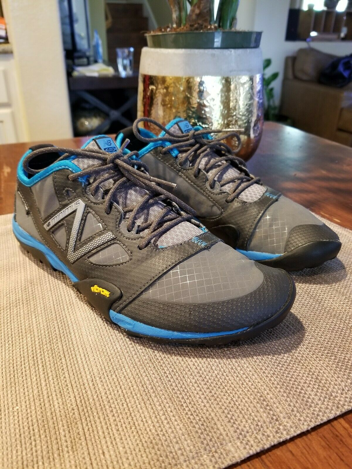 Mens New Balance Minimus Winterrun Winter Running Size 8 MT20GK