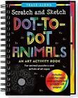 Scratch & Sketch Dot-To-Dot Animals (Trace-Along) by Peter Pauper Press (Hardback, 2016)