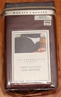 Palais Royale King Brown Bed Skirt 15 Or 18 Hotel Collection Split Corners