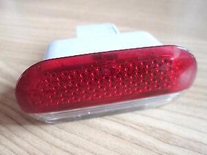 Hella elipsoidal Oldtimer rojo niebla final lámpara k21605 para lámpara