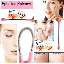Epilator Epicure Facial Hair Remover Tool Face Beauty Spring Threading Removal
