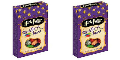2 x Harry Potter Bertie Botts Jelly Belly Beans from American Goodies USA IMPORT