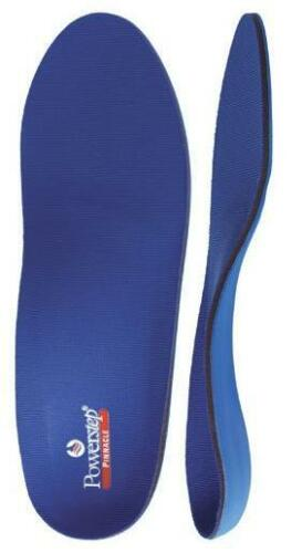 PowerStep Pinnacle Orthotic Arch Support Insole Insert #K Size Men 14 14.5 15