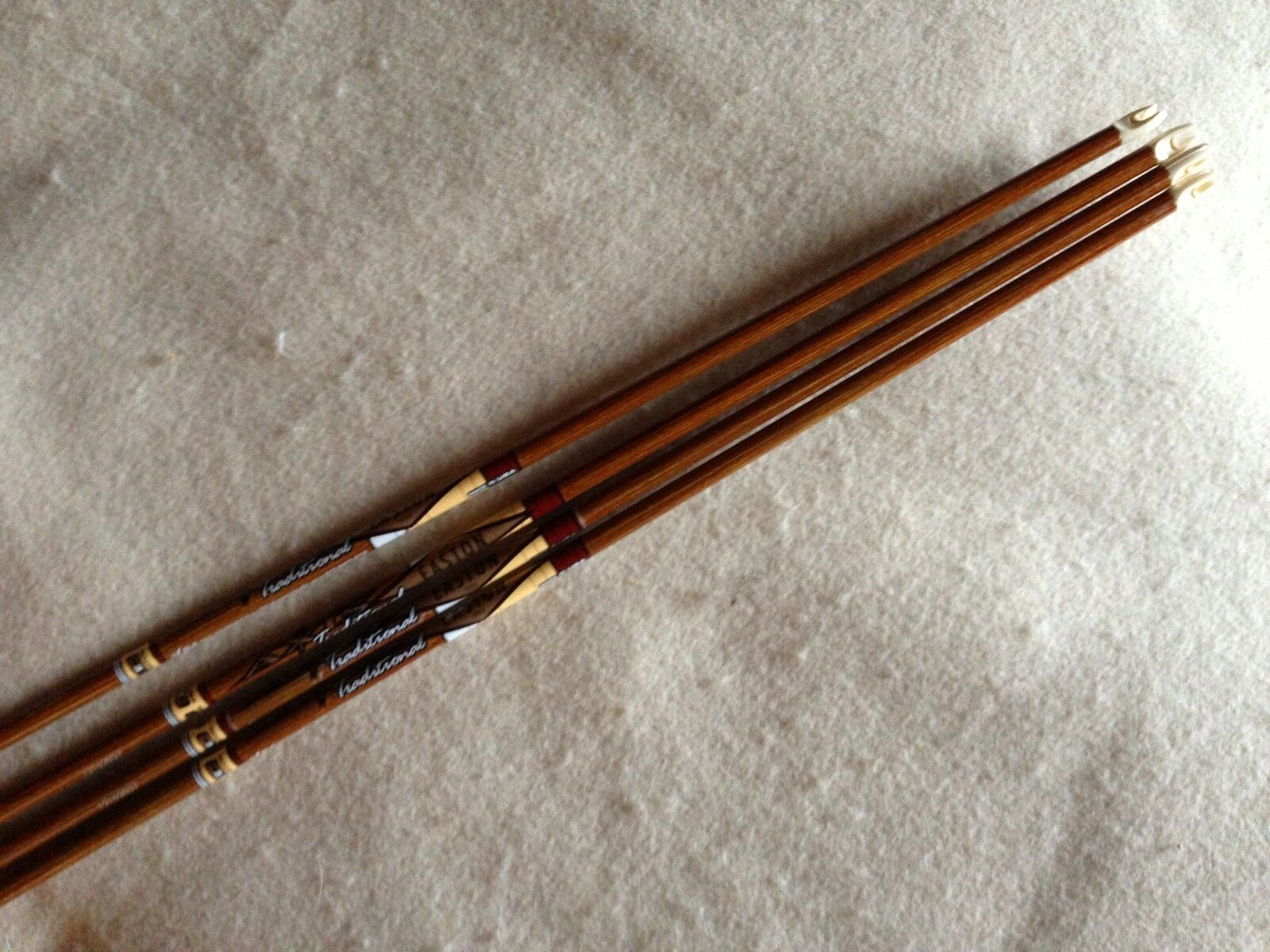 Easton Axis Traditional Arrow Shafts 500 MFX shafts With Aluminum Inserts