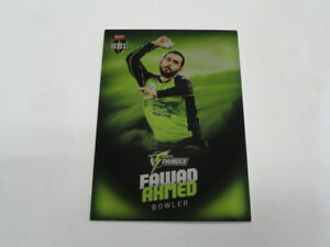 2017-18-TAP-N-PLAY-BBL-PARALLEL-CARD-NO-141-FAWAD-AHMED-SYDNEY-THUNDER