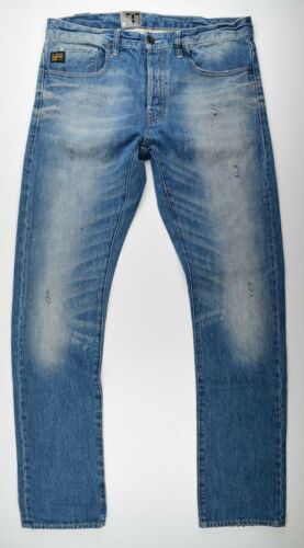 Jeans Mince Neu Moyen star Raw Occasion Rendement G Look L34 Age Roue Denim W36 IaqCEn