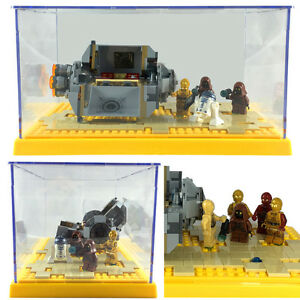 Lego Star Wars Friends City Technic Display Case Mini Figures Sets