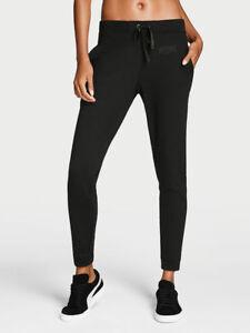 067026ff54ca3d Victoria's Secret SPORT Pant Slouchy Jogger Black w/pockets Cozy ...