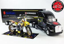 James Stewart YOSHIMURA Regalo Set Suzuki RMZ450 Motocross Bici / 1:32 RACE TRUCK