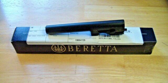 Beretta Barrel 92fs 9mm Luger Standard Blued Italy