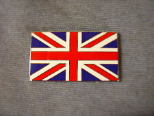 CLASSIC CAR  ENAMEL UNION JACK FLAG DECAL BADGE  50 X 30 MM