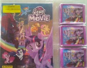 My-Little-Pony-The-Movie-album-250-cromos-PANINI-2017-sobres-sin-abrir
